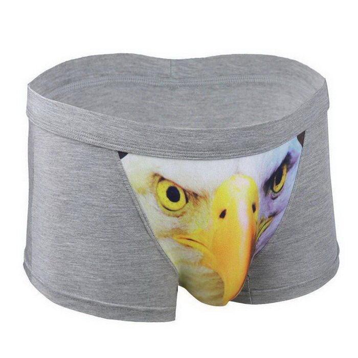 Веселые трусы с 3D-животными