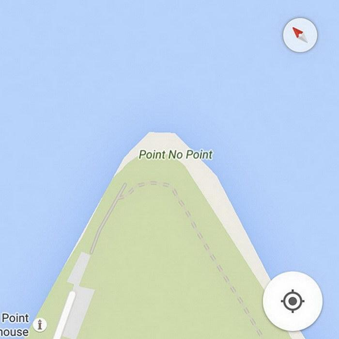 Грустные названия объектов на карте: фотопроект Damien Rudd