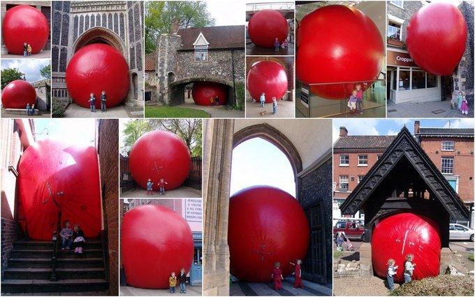 Проект Красный мяч
