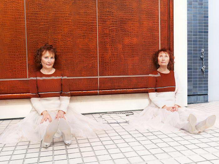 Свитера, которые сливаются со средой: Knitted Camouflage