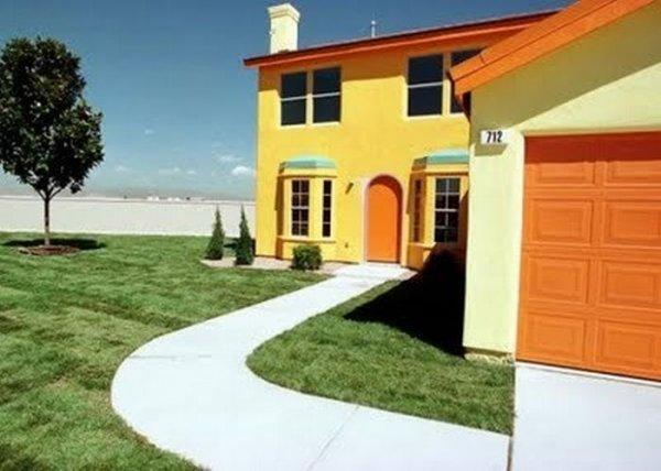 Дом в котором живут Симпсоны