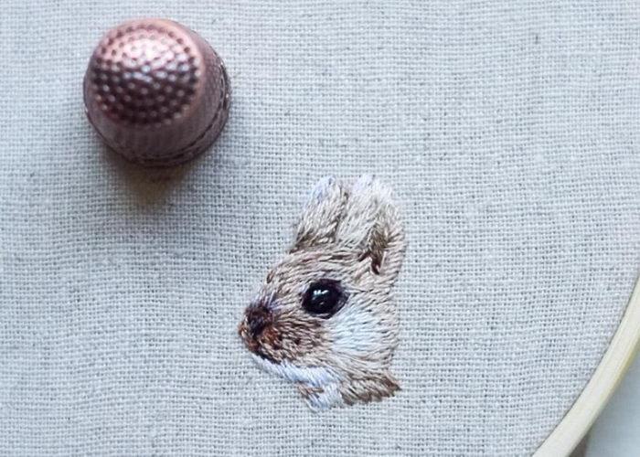 Небольшие вышивки Yulia Sherbak
