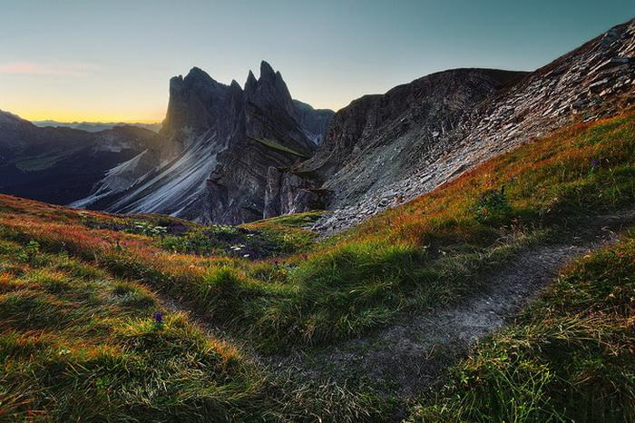 Невероятные горы в фотографиях Lukas Furlan