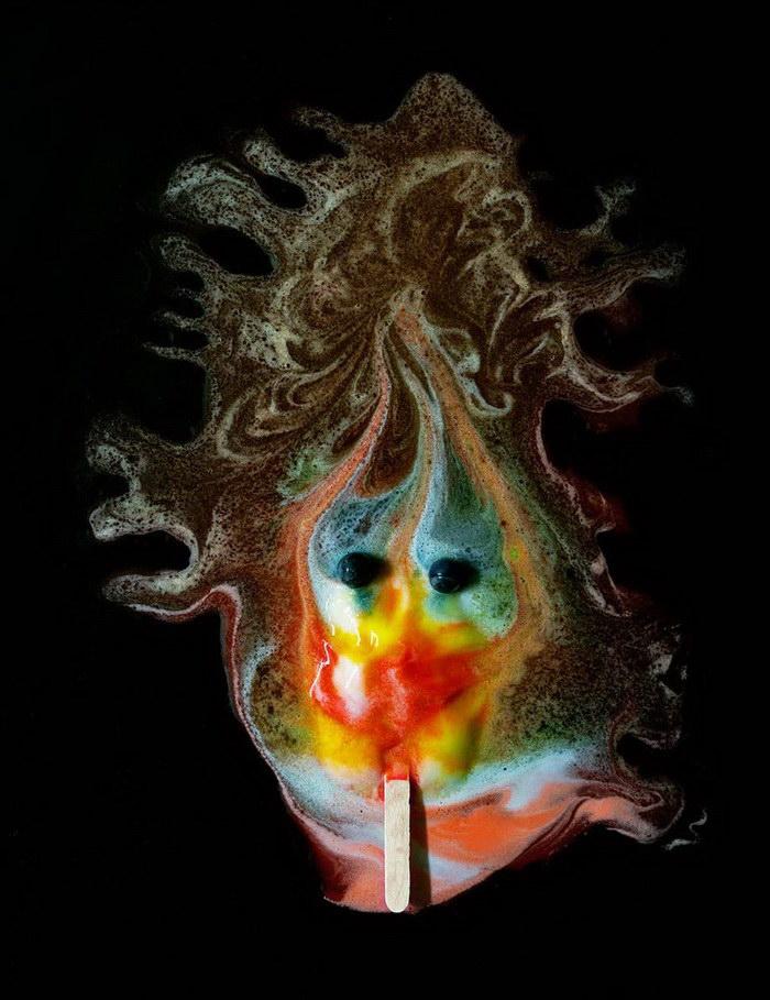 Таяние мороженого в фотопроекте Michael Massaia