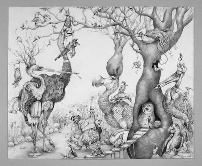 Карандашные рисунки Adonna Khare