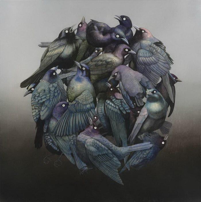Необычные картины Tiffany Bozic