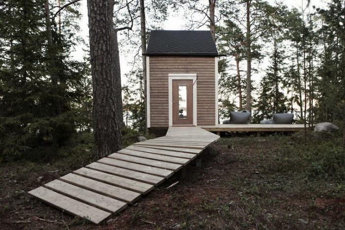 20 уютных домов с минимальной жилой площадью