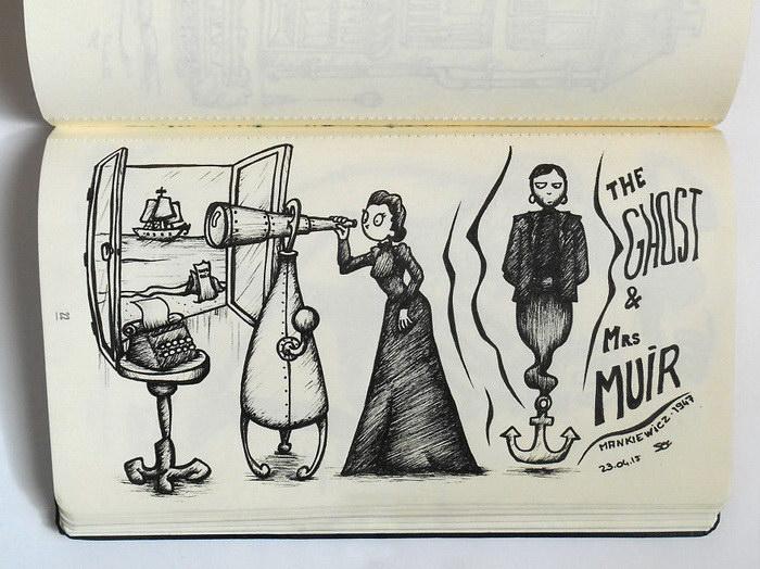 Кинематографические рисунки So Nieuf