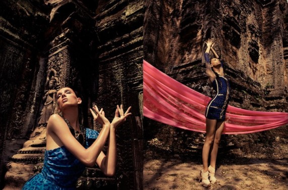 Ангкор-Ват (Angkor Wat) глазами фотографа Seiji Fukimori (фото)
