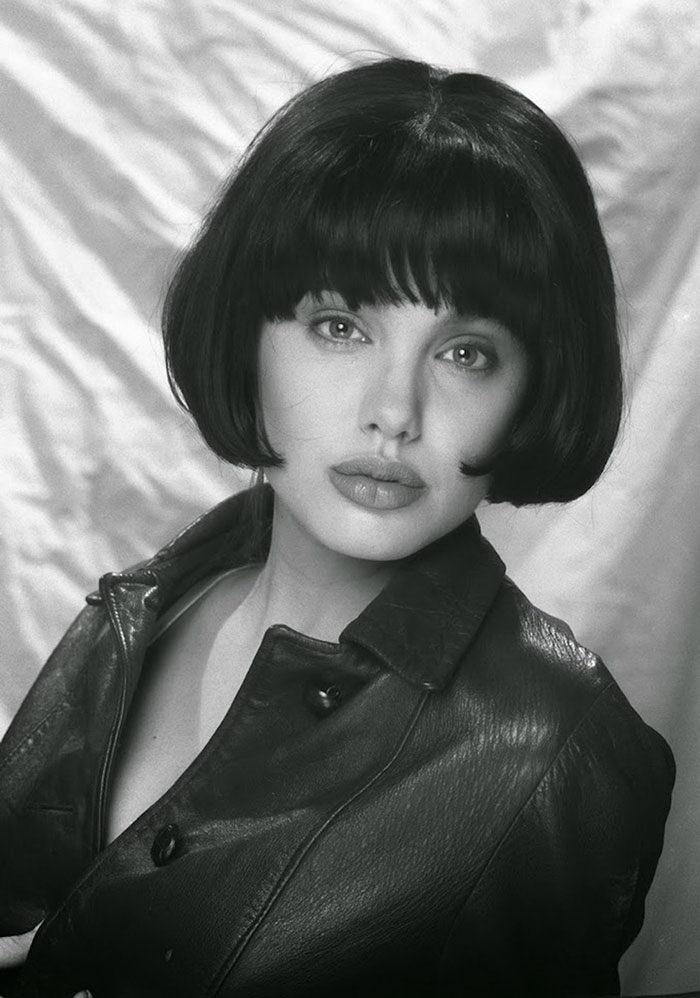 15-летняя Анджелина Джоли на фотографиях Harry Langdon