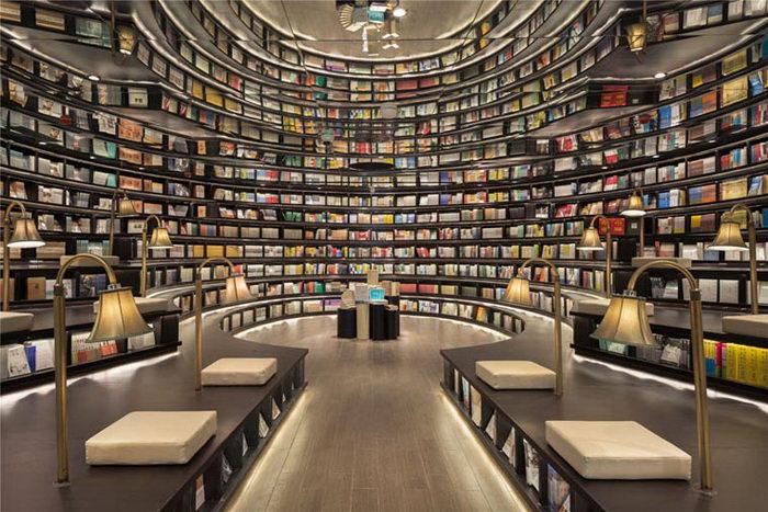 Невероятная библиотека в Ханчжоу