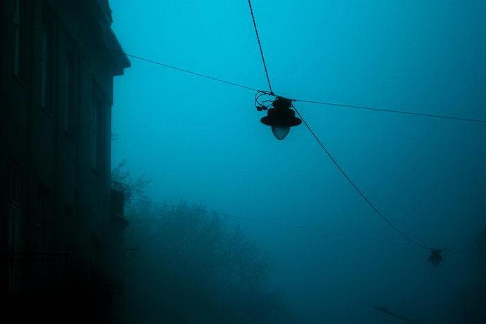 Краков в тумане в фотографиях Norbert Krzysztof Wojtysiak