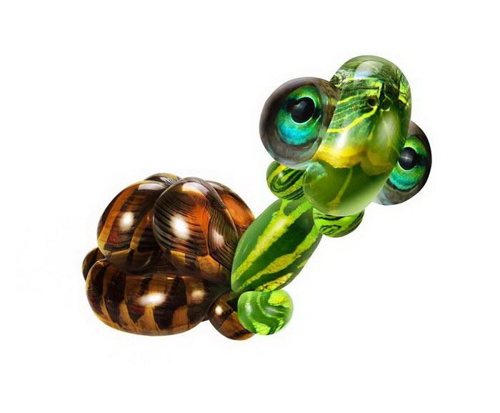Гибриды воздушных шаров и животных Sarah DeRemer