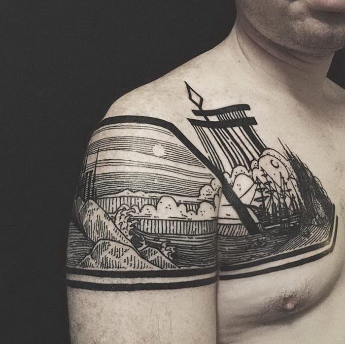 Необычные татуировки Thieves of Tower