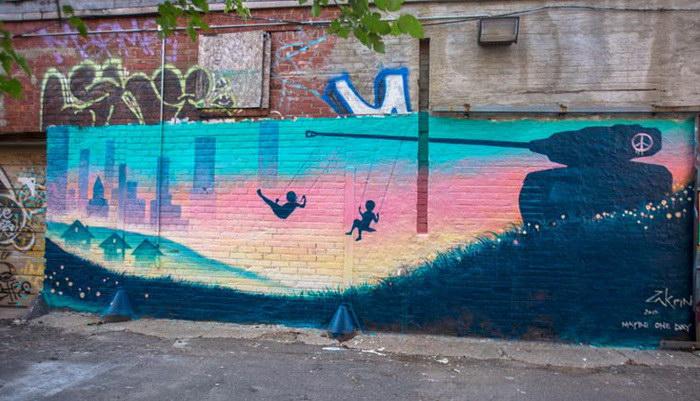 Фестиваль граффити Murals in the Market