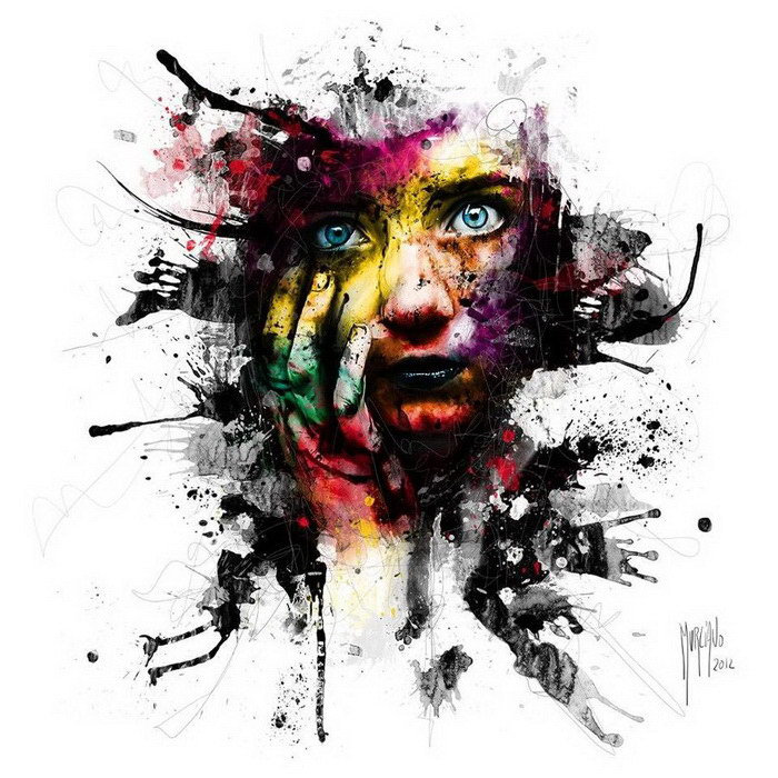 Яркие и эффектные картины Patrice Murciano