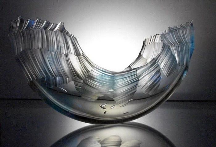 Стеклянные скульптуры Graham Muir