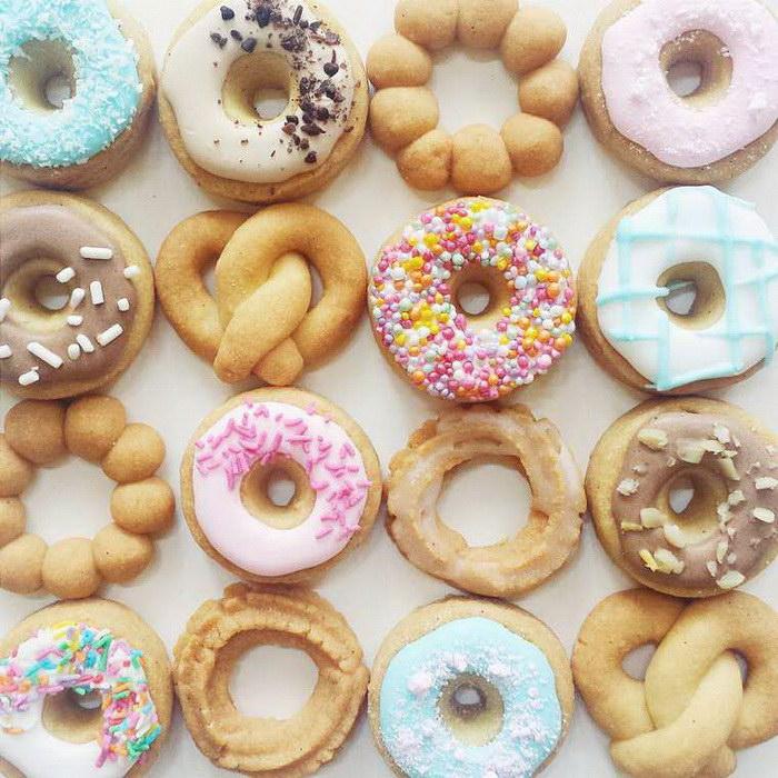 Няшные десерты производства Vickie Liu