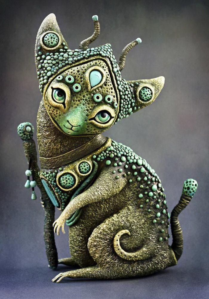 Мистические существа авторства Zyabra Art