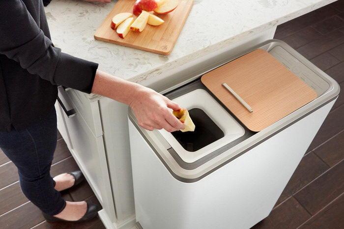 Домашние отходы в удобрение: необычный девайс Whirlpool