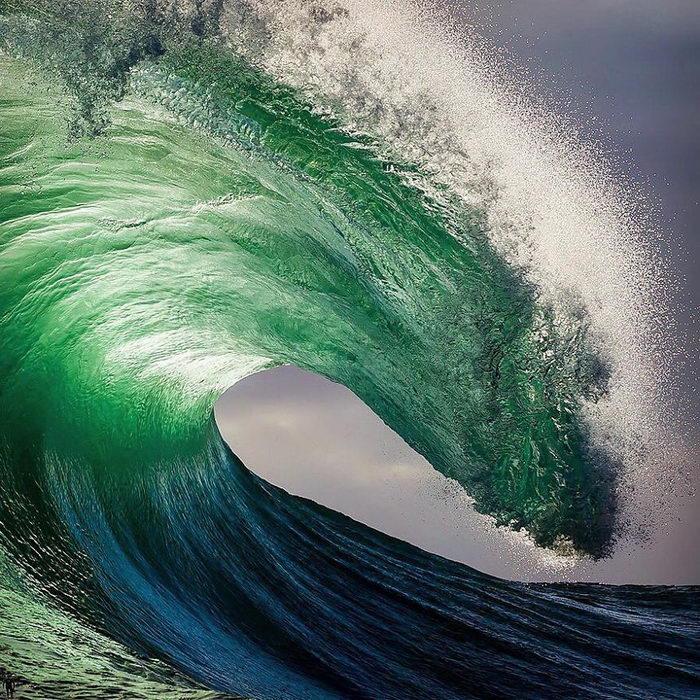 Величие океана в фотографиях Matt Burgess
