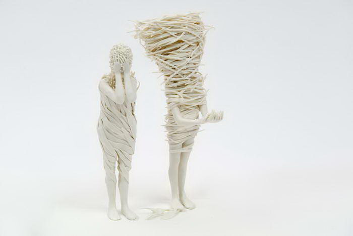 Керамические фигуры Claudia Fontes