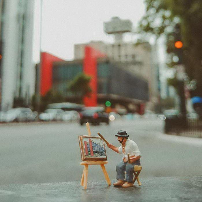 Миниатюрная жизнь Renan Viana