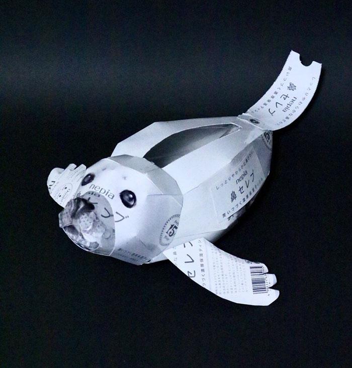 Искусство из мусора: работы Haruki