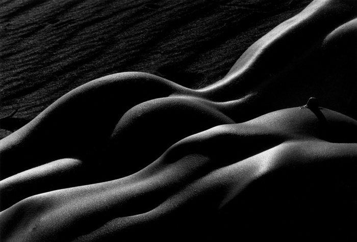 Черно-белая эротика Lucien Clergue