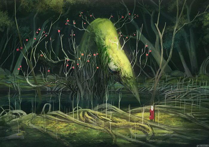 Фэнтези-иллюстрации Ariduka