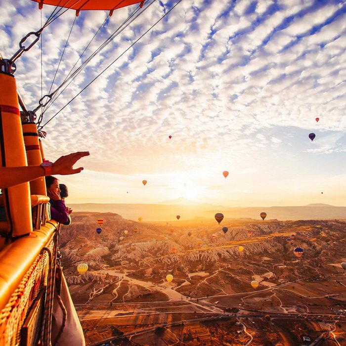 Красота Каппадокии в фотографиях Кристины Макеевой