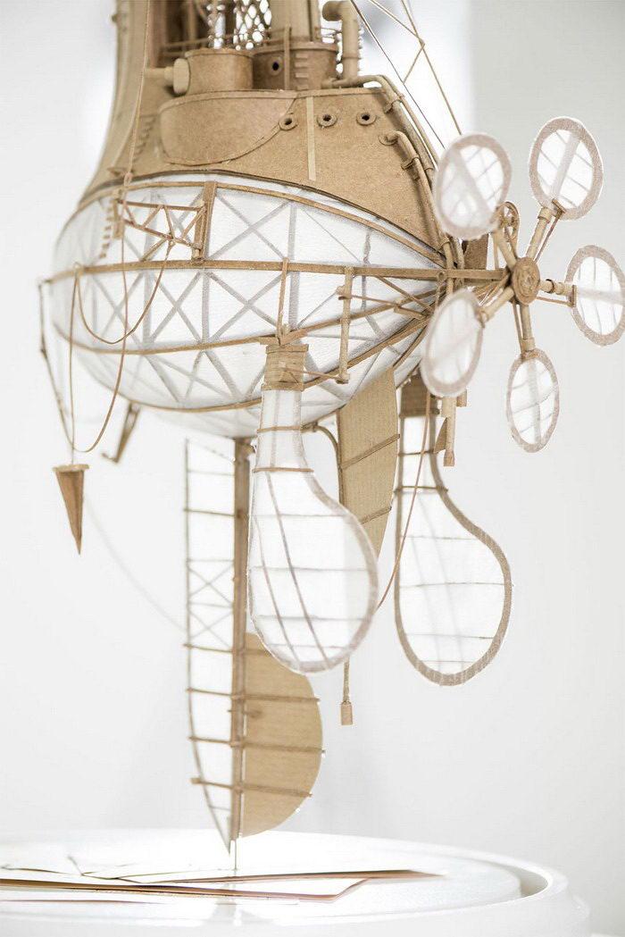 Невероятные дирижабли Jeroen van Kesteren