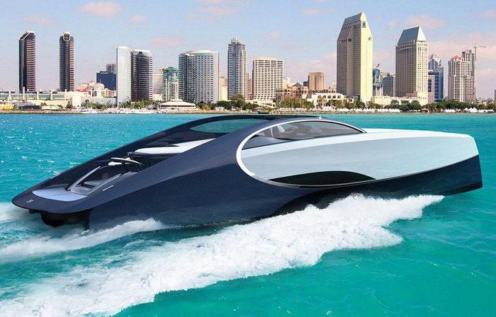 Bugatti выпустила невероятную модель яхты Niniette 66