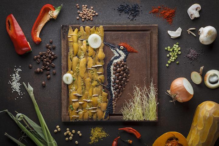 Искусство из еды