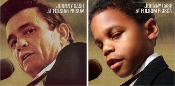 Сын на обложках альбомов