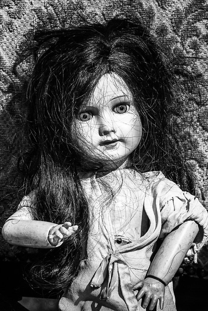 Старые куклы в фотографиях Fabienne Rolland