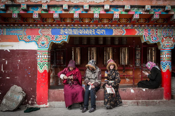 Сертар Ларунг Гар: гигантский буддистский монастырь