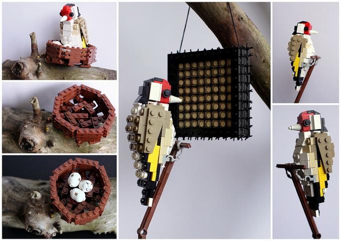 Как сделать птицу из лего инструкция
