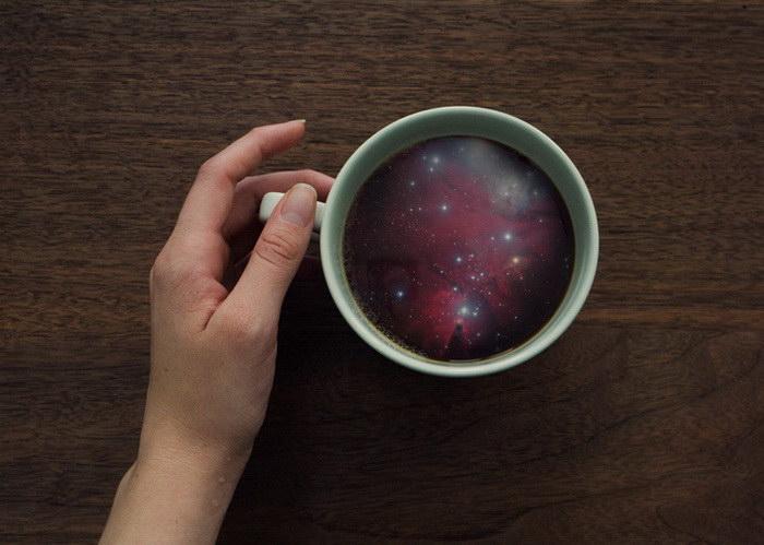 Космос в чашке Victoria Siemer
