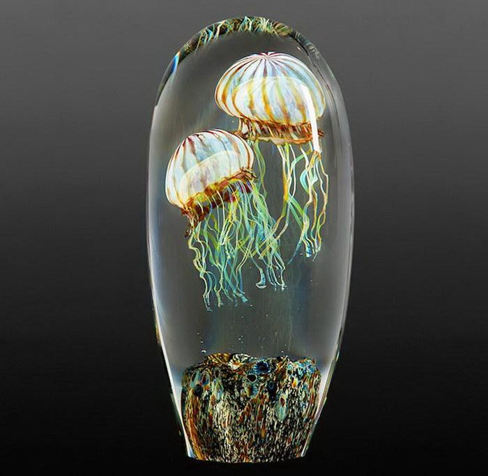 Стеклянные медузы Rick Satava