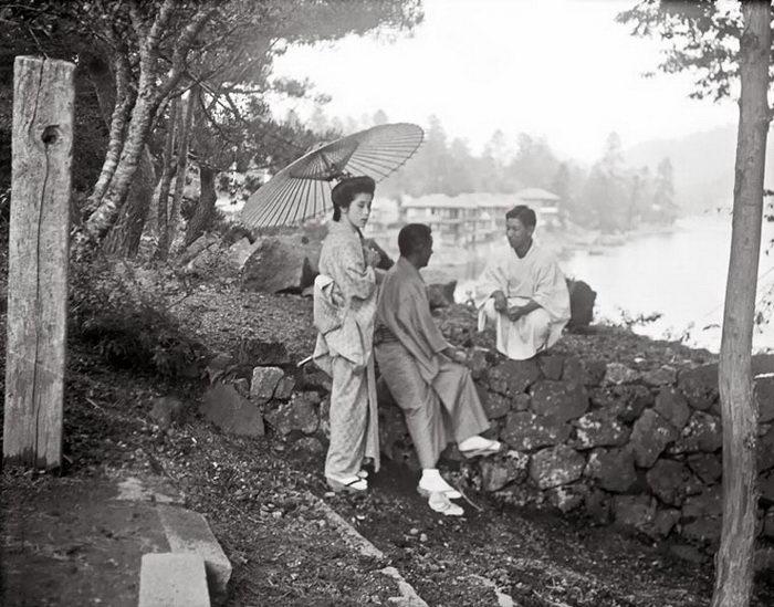 Япония в 1908 году: фотографии Arnold Genthe
