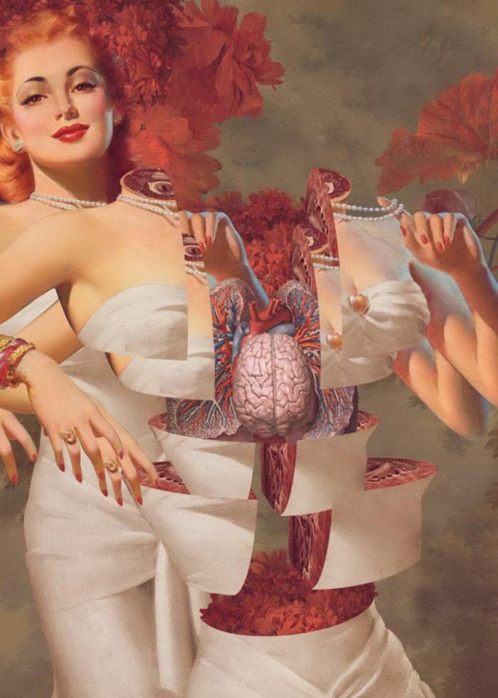 Анатомический пин-ап в картинах FFO