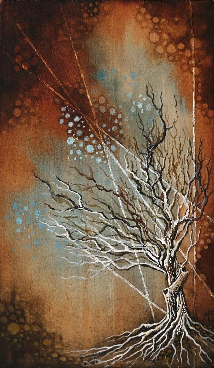 Картины по дереву Michelle Petersen