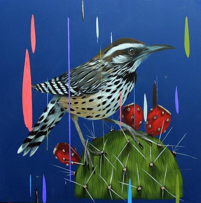 Птицы в картинах Frank Gonzales