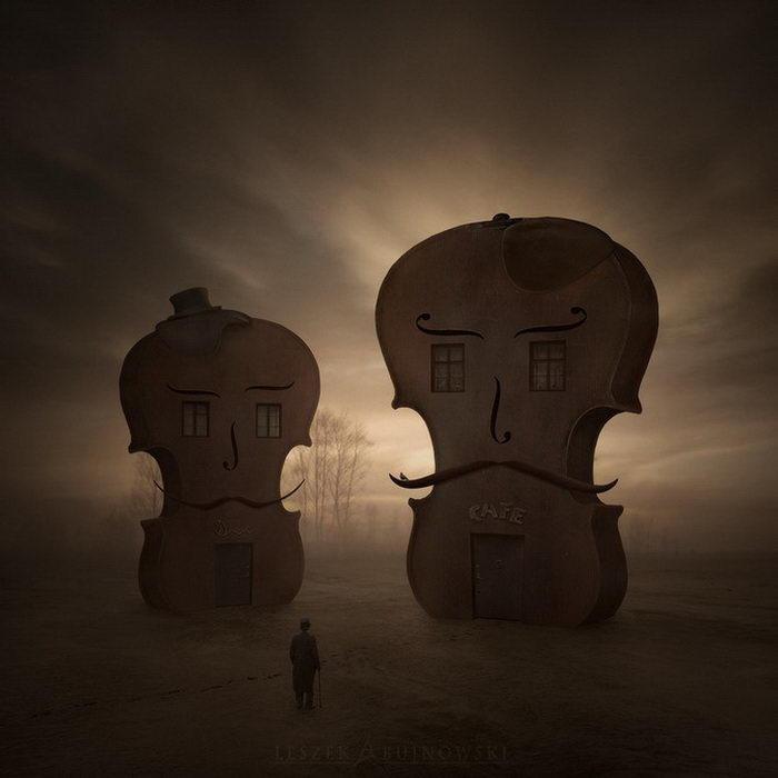 Задумчивые фотокартины Leszek Bujnowski