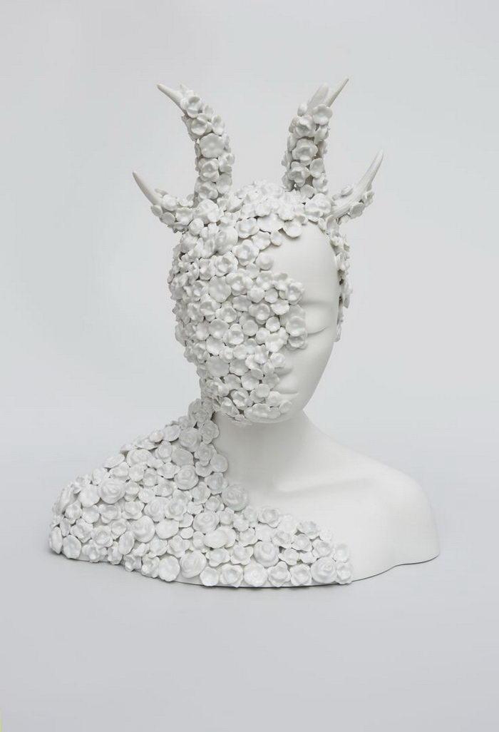 Фарфоровые головы Juliette Clovis