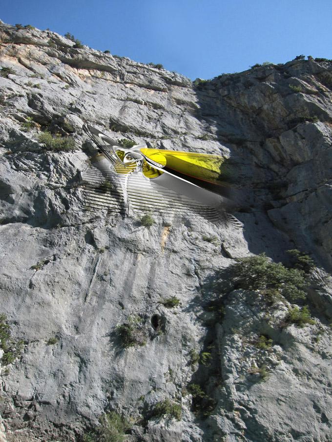 Проект отеля для альпинистов
