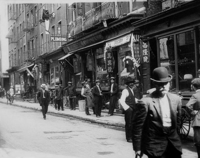 Редкие фотографии Нью-Йорка 1911 года