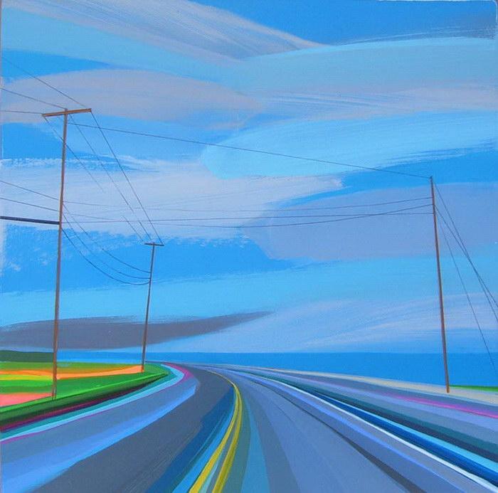 Дороги в картинах Grant Haffner