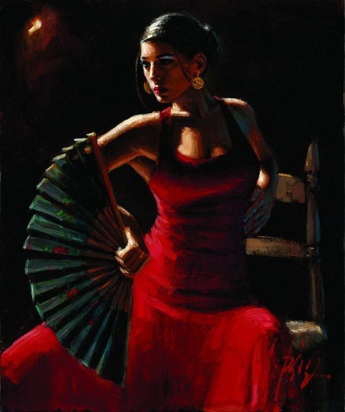 В ритме танго: картины Fabian Perez